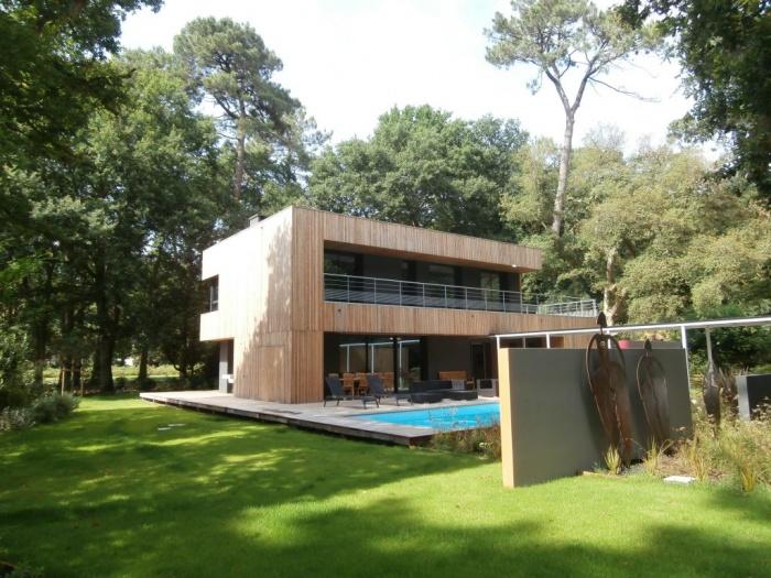 Villa d 39 architecte au golf d 39 hossegor achat maison for Architecte hossegor