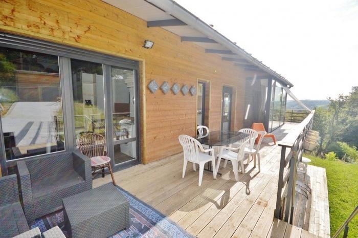 Terrasse Villa Contemporaine : Villa contemporaine avec belles terrasses Achat maison