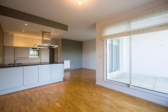 Agréable duplex de 72m² avec grande terrasse.